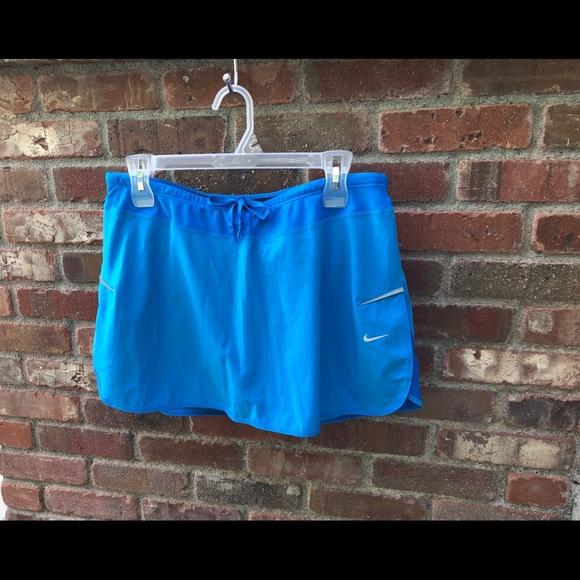 Nike Dresses & Skirts - Nike Blue Dri-Fit Tennis Skirt, Large